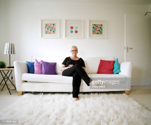 a portrait of a woman from the lgbt community - hove stock pictures, royalty-free photos & images