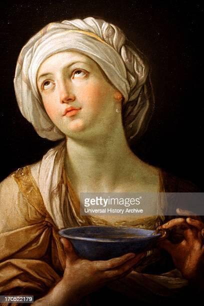 Portrait of a Woman perhaps Artemisia or Lady with a Lapis Lazuli Bowl 1638 1639