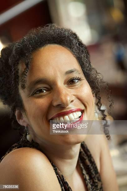 portrait of a woman - thinkstock stock-fotos und bilder