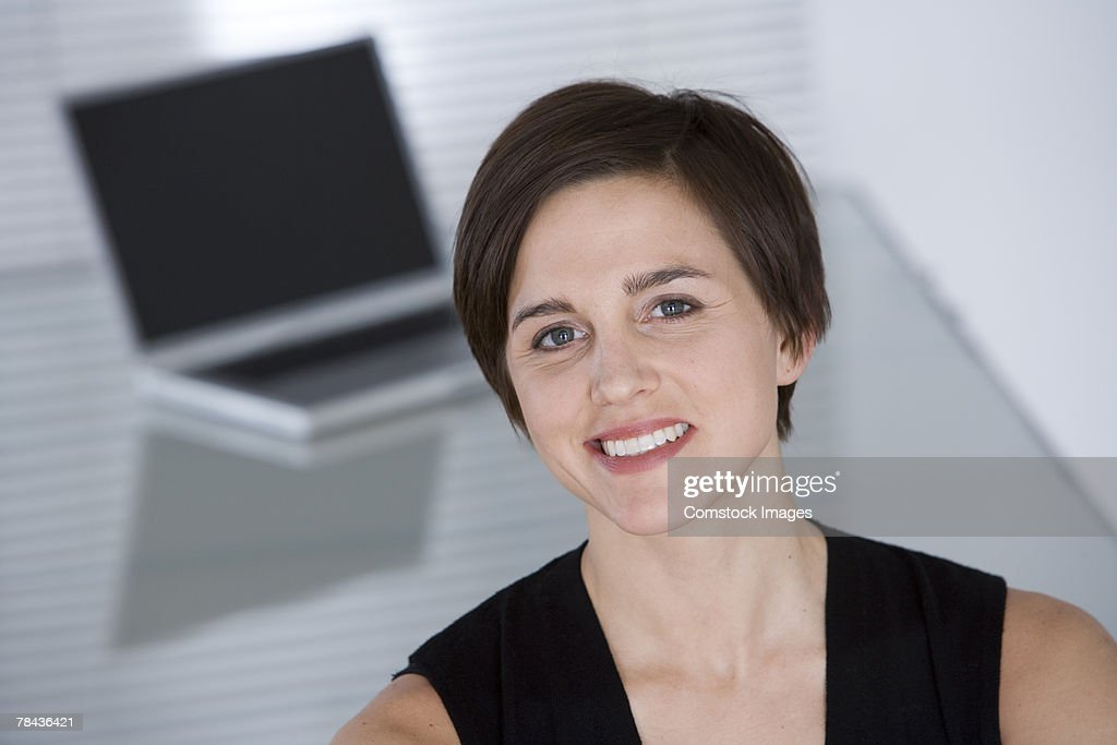 Portrait of a woman : Stockfoto