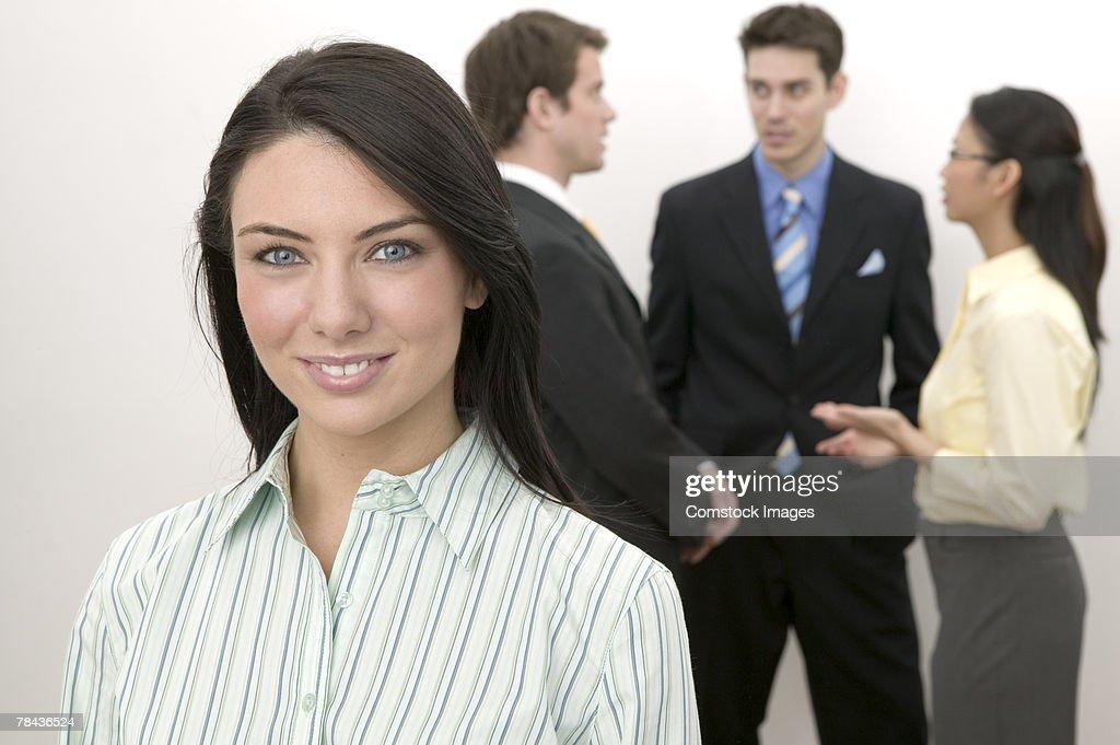 Portrait of a woman : Stockfoto