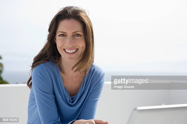 portrait of a woman - 35 39 years stock pictures, royalty-free photos & images