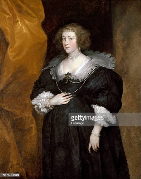 Portrait of a woman probably a member of the noble du Croy family of Brussels by Anthonie van Dyck Pinacoteca di Brera Milan Italy