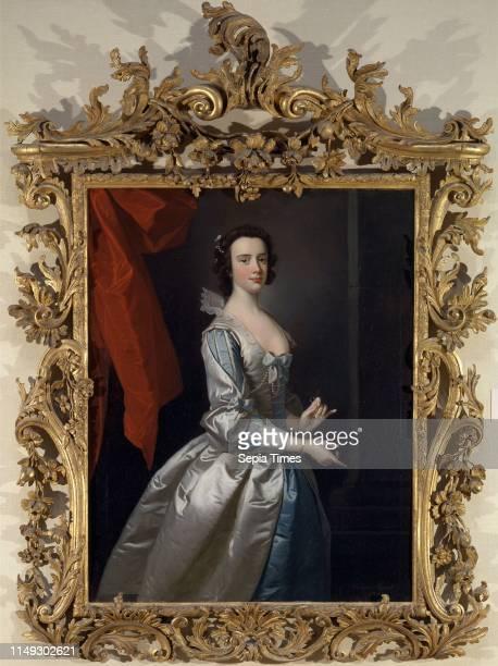 Portrait of a Woman Probably Elizabeth Aislabie of Studley Royal Yorkshire Portrait of a Lady Probably Elizabeth Aislabie nee Vernon Signed and dated...