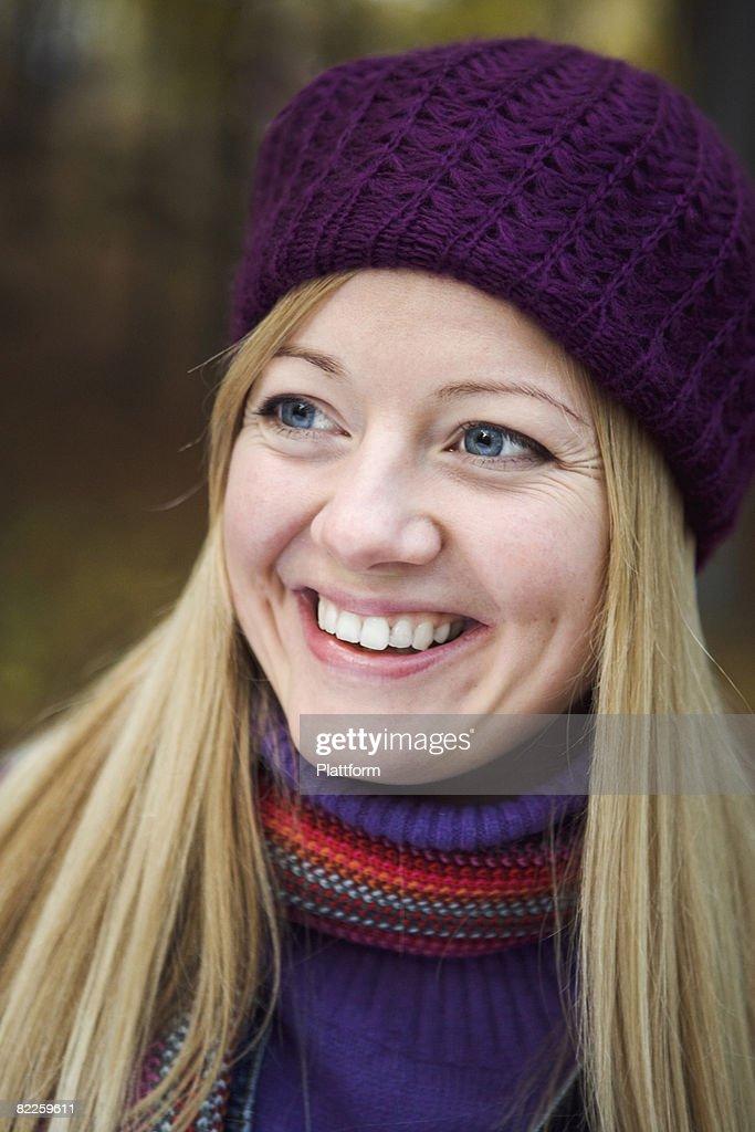 Portrait of a woman Sweden. : Stock Photo