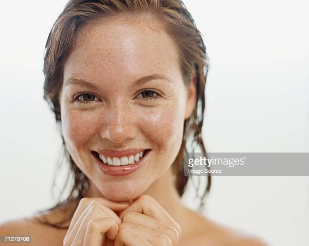 Porträt einer jungen Erwachsenen Frau
