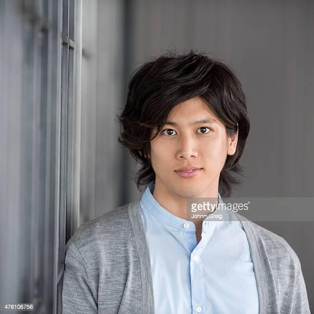 アジアのポートレート、若い男性