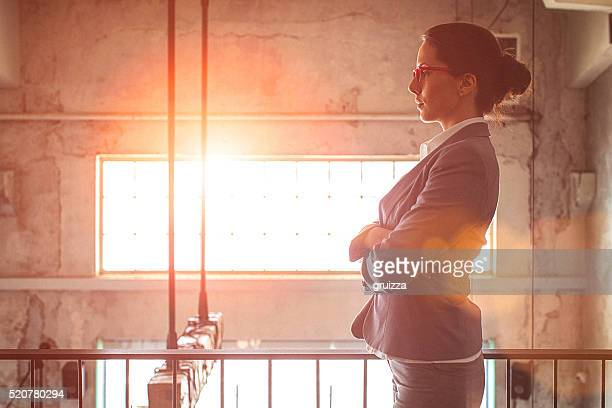 Portrait of a young beautiful businesswoman