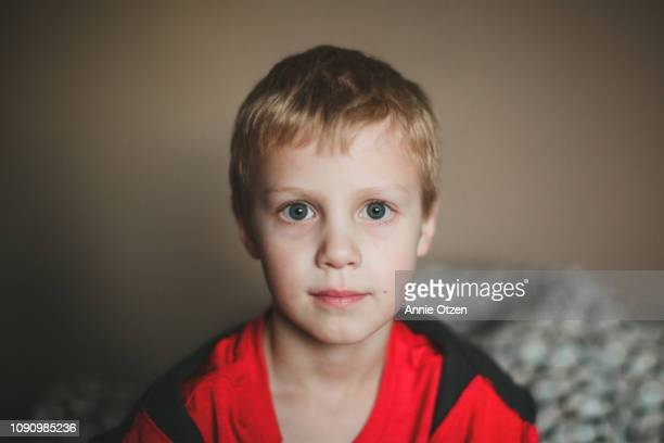 portrait of a young boy - innocence stock pictures, royalty-free photos & images