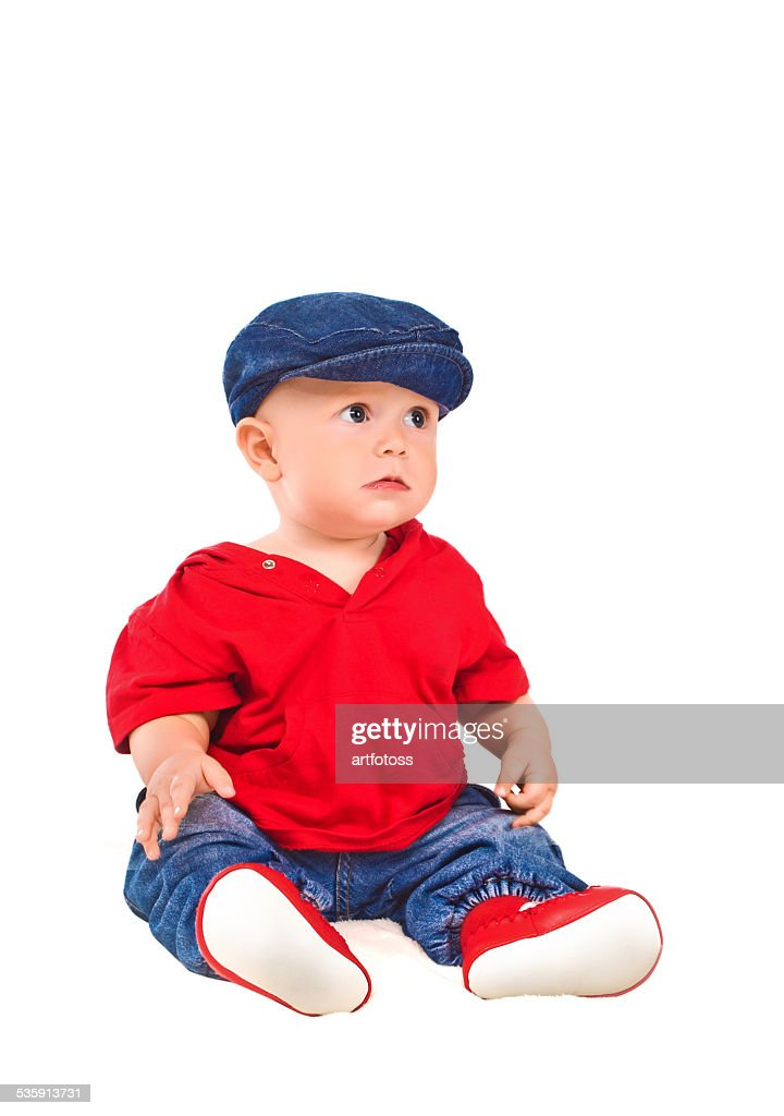 Portrait of a young child : Stock Photo