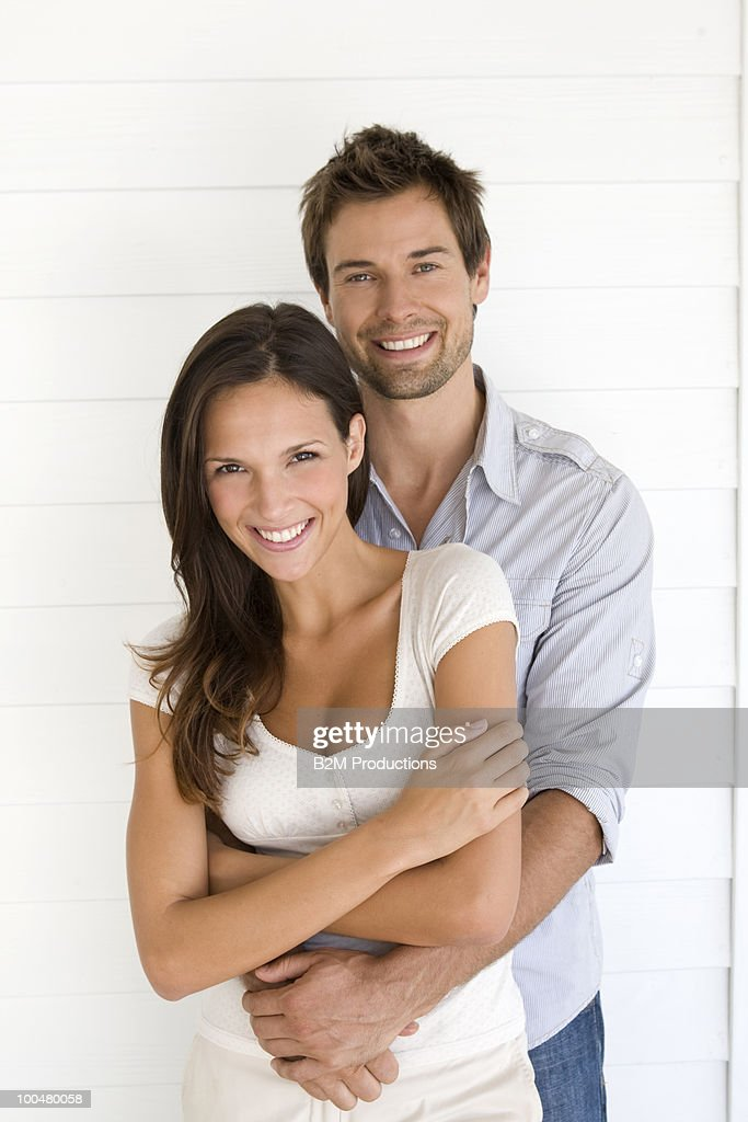 Portrait of a  young couple : Foto stock