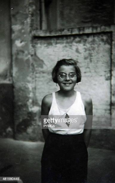 Portrait of a young girl from the Hitler Youth Germany circa 1930s