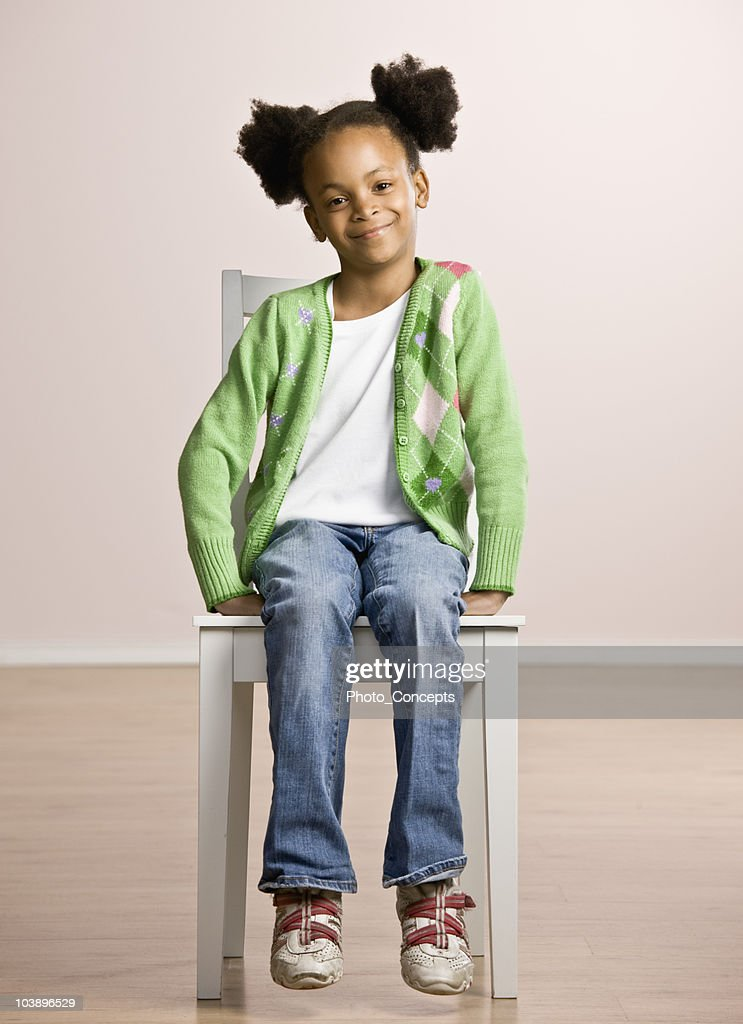 Portrait of a Young Girl : Stock Photo