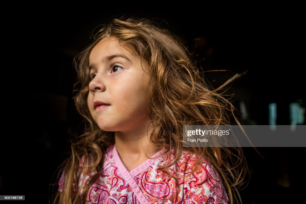 Portrait of a young girl. : Stock Photo