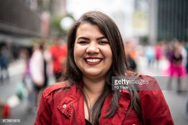 portrait of a young girl - chubby woman stock pictures, royalty-free photos & images