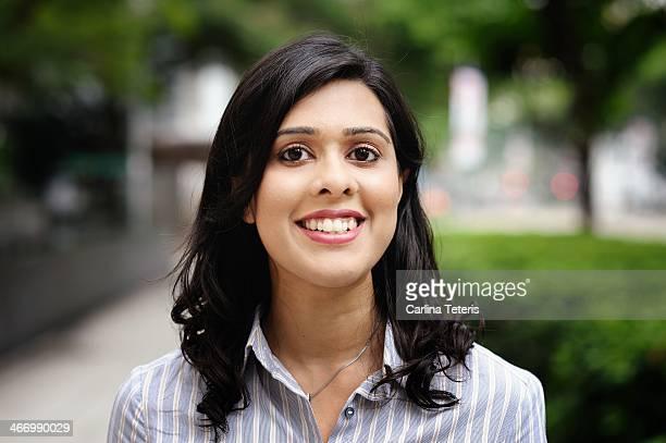 Portrait of a young Indian business woman