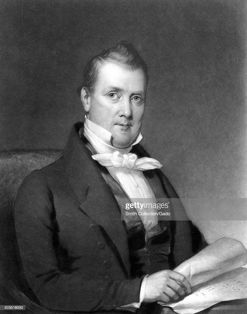 James Buchanan Portrait : News Photo