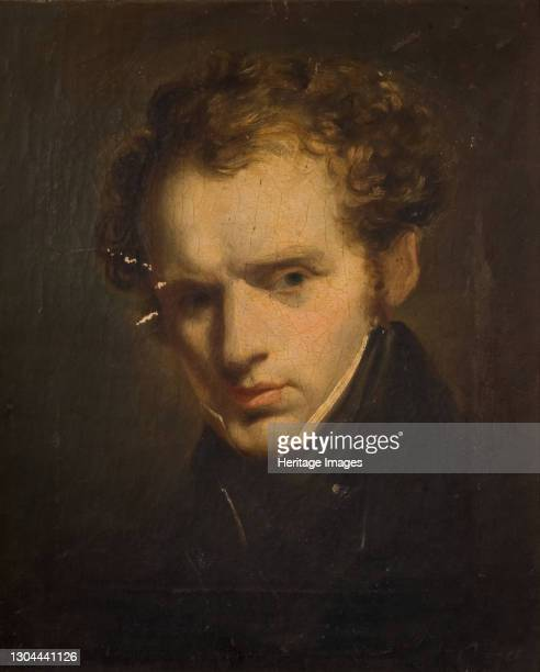 Portrait of a Young Man, 1840. Artist Unknown.