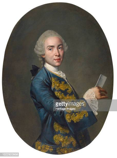 Portrait of a young man circa 1760 Found in the Collection of Musei Civici di Arte e Storia Brescia