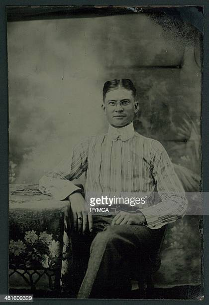 Portrait of a young man circa 1890s