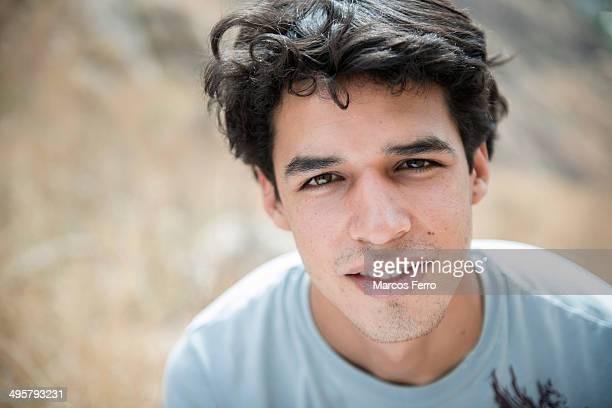 Portrait (headshot) of a young man in El Diente, Guadalajara, Jalisco, Mexico