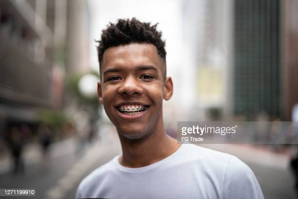 portrait of a young man in the city - brazil stock pictures, royalty-free photos & images