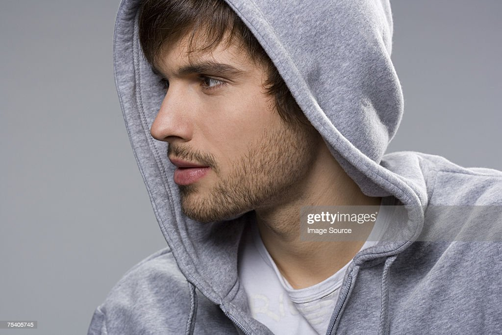 Portrait of a young man : Stock Photo