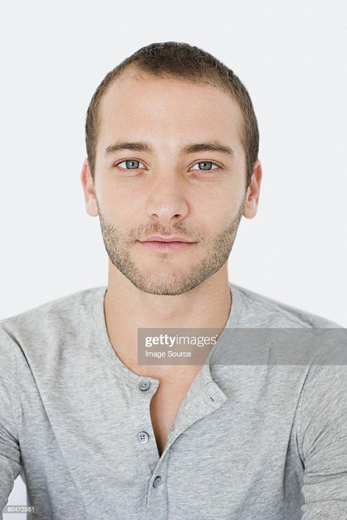 Portrait of a young man : Foto de stock