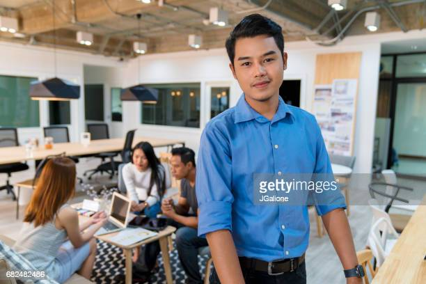 Portrait of a young office worker