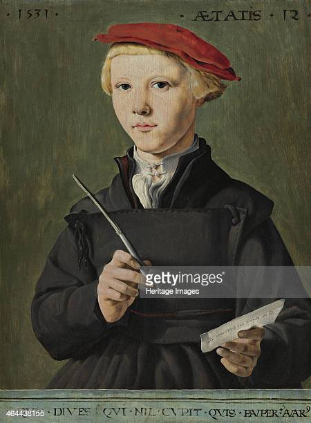 Portrait of a Young Scholar 1531 Found in the collection of the Museum Boijmans Van Beuningen Rotterdam