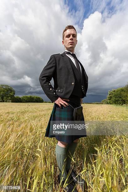 Portrait d'un jeune Scotsman.