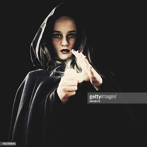 Retrato de un joven de brujas