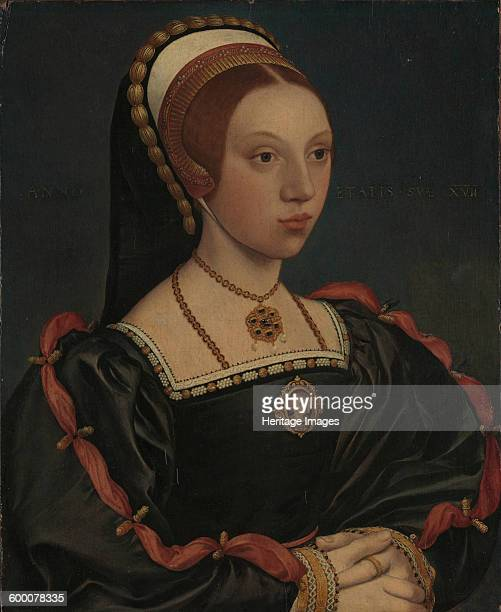 Portrait of a Young Woman ca 15401545 Found in the collection of Metropolitan Museum of Art New York Artist Holbein Hans the Younger Workshop of