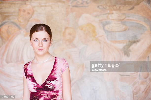 portrait of a young woman - hair part stock pictures, royalty-free photos & images
