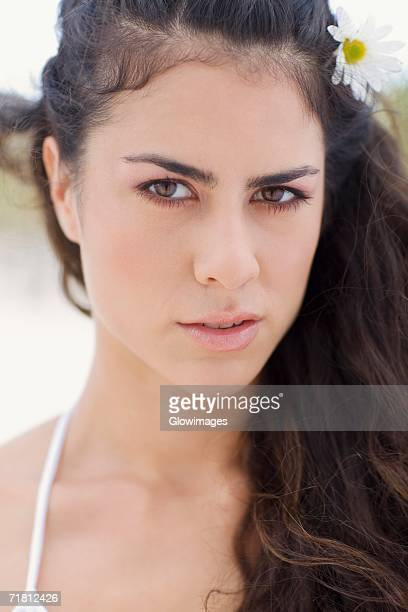 portrait of a young woman - grey eyes stock pictures, royalty-free photos & images