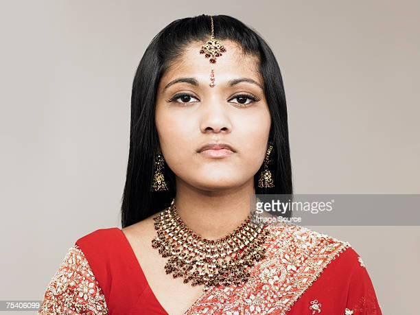 Porträt von eine junge Frau