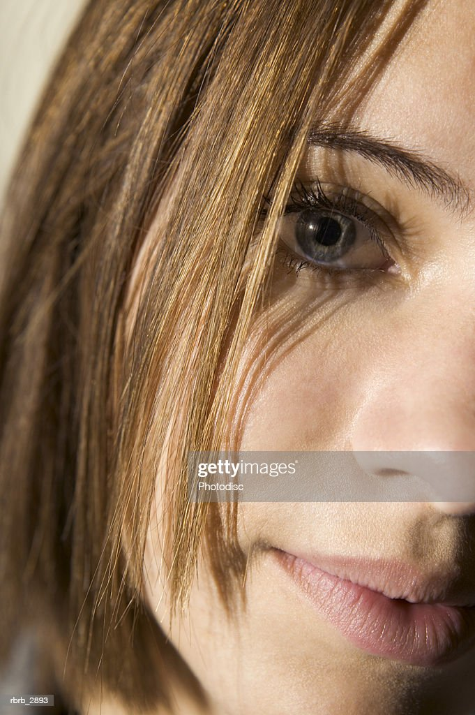 Portrait of a young woman : Foto de stock