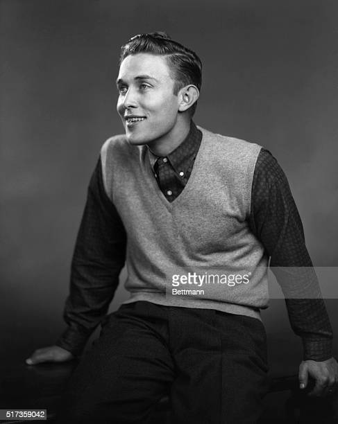 Portrait of a youthful Jimmy Dean Undated photograph