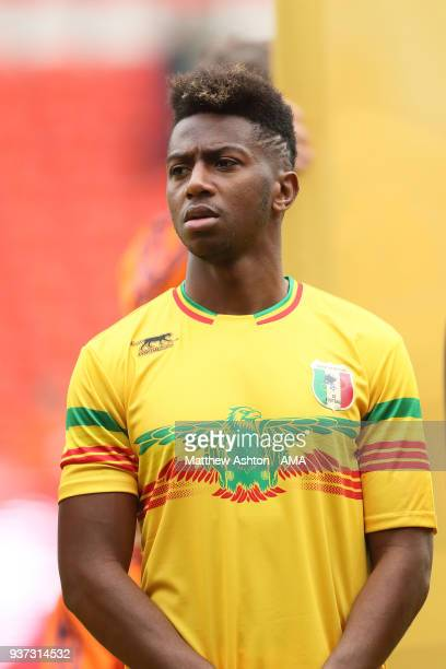 Portrait of Abdoulaye Diaby of Mali during the International friendly match between Japan and Mali at the Stade de Sclessin on March 23 2018 in Liege...