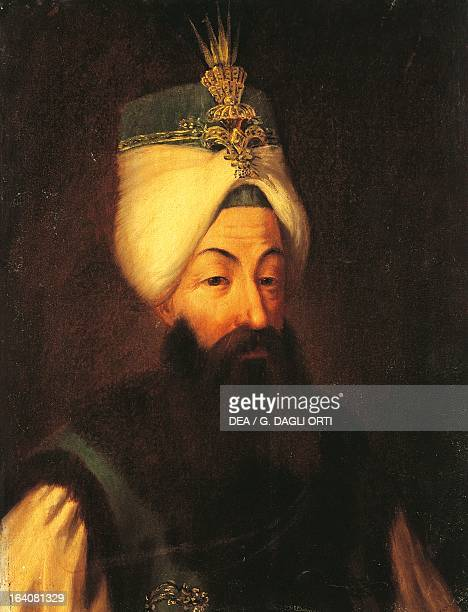 Portrait of Abdul Hamid I Sultan of the Ottoman Empire Second son of Ahmed III crowned January 23 in the mosque of Ayoub Versailles Château De...