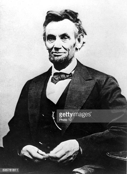 Portrait of Abraham Lincoln by the photographer Alexander Gardner United States Washington Library of Congress