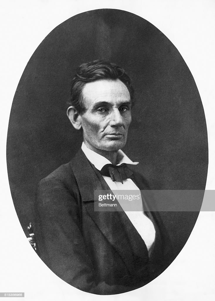 Portrait of Abraham Lincoln without beard (1809-1865). Undated photograph. BPA2# 3846