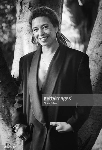 Portrait of activist and writer Angela Davis Oakland California 1995