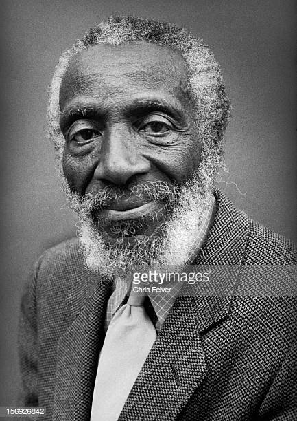 Portrait of activist comedian and writer Dick Gregory New York New York 2000
