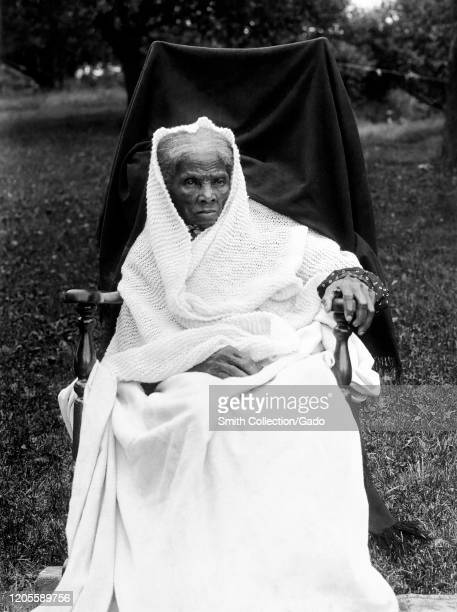 Portrait of activist Harriet Tubman late in life Auburn New York 1911 Courtesy Library of Congress