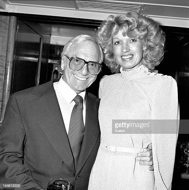 Portrait of Actor and Comedian Dick Emery with Fay Hillier in April 1982