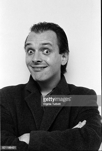 Portrait of actor and comedian Rik Mayall , United Kingdom, 9th October 1984.