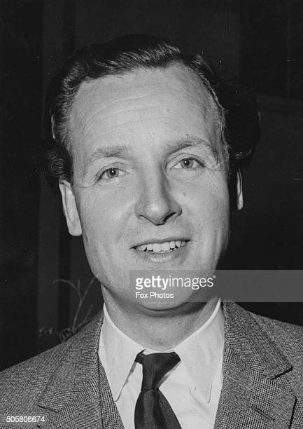 Portrait of actor and presenter Nicholas Parsons May 1968