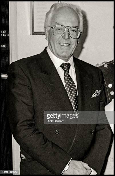 Portrait of actor Brian Rix at Bermans and Nathans London 1996