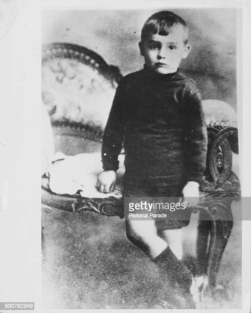 Portrait of actor Cary Grant as a child circa 19081910
